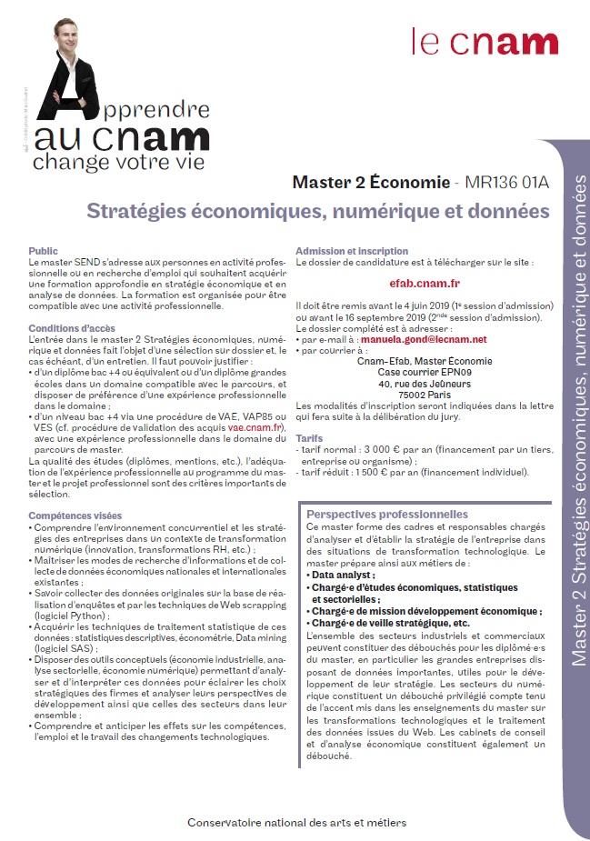 M2 Economie